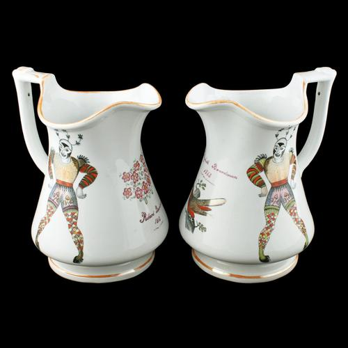 Pair of Elsmore & Forster Puzzle Jugs (1 of 9)