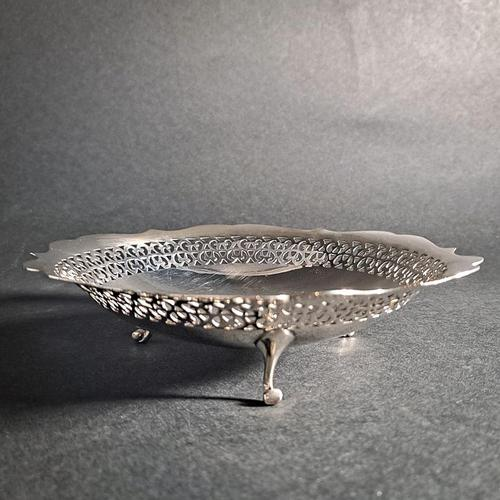 20th Century Silver Dish (1 of 4)