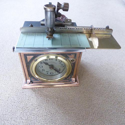 Time Recorder made by The National Time Recorder Company (1 of 5)