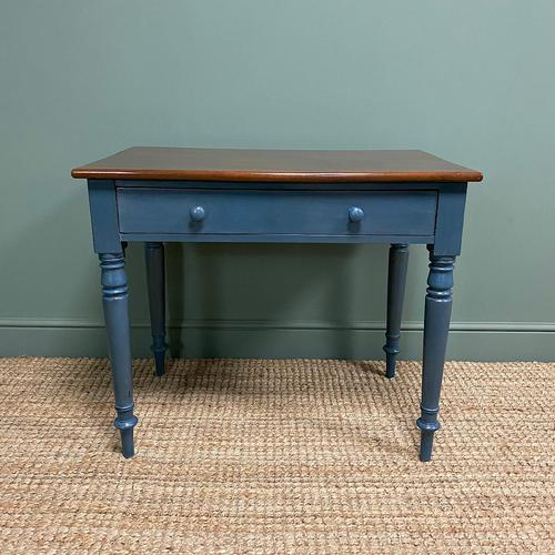 Georgian Painted Antique Side Table (1 of 6)