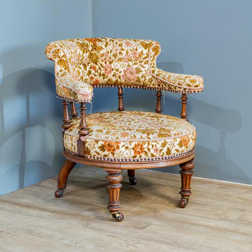 19th Century Easy Chair (1 of 8)