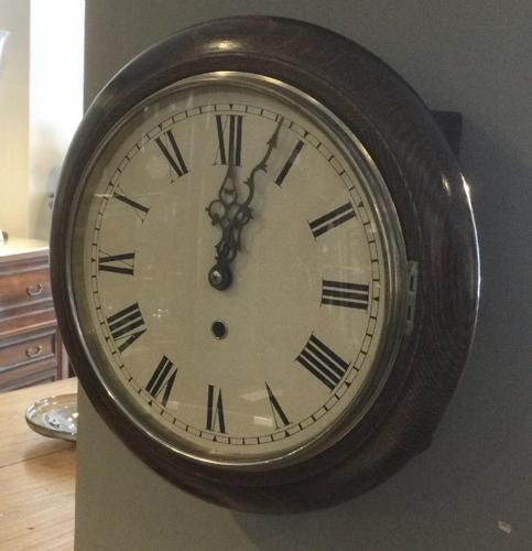 Oak Cased Norland Wall Clock (1 of 7)