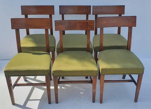 Set of Six Late 19th Century Dining Chairs (1 of 4)