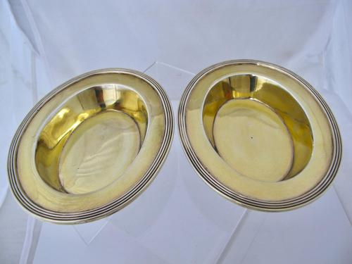 Fabulous George III Silver Sweetmeat Dishes William Stroud London 1801 (1 of 7)