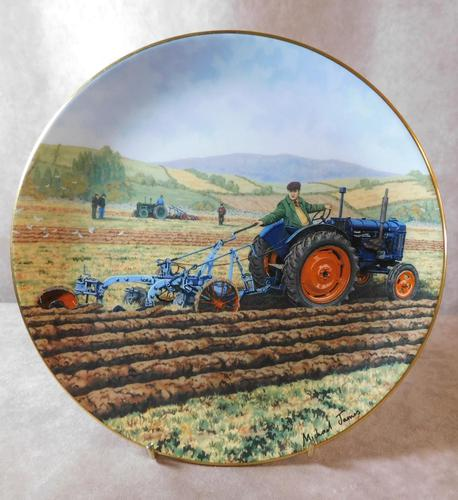 """At The Vintage"" Limited Edition James Herriot Plate (1 of 2)"