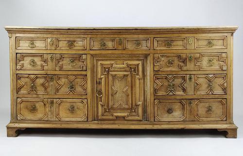 Geometric Oak Dresser Base (1 of 14)