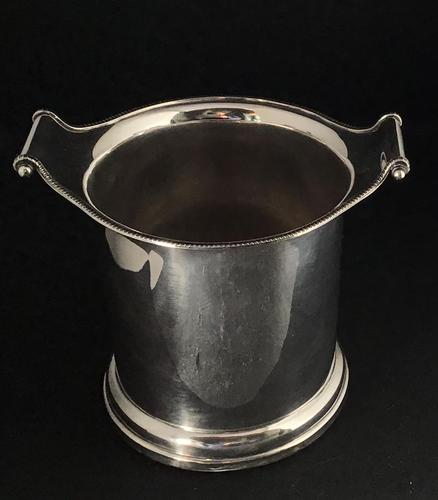 Early Victorian Silver Plated Bottle Holder (1 of 5)