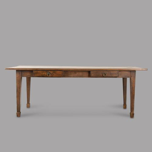 French Oak 19th Century Farmhouse Table (1 of 5)