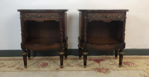 French Empire Style Cabinets Bedside Tables (1 of 16)