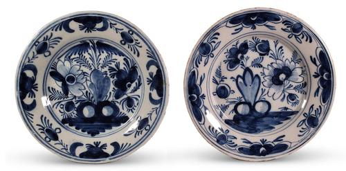 Two Delft Plates (1 of 3)