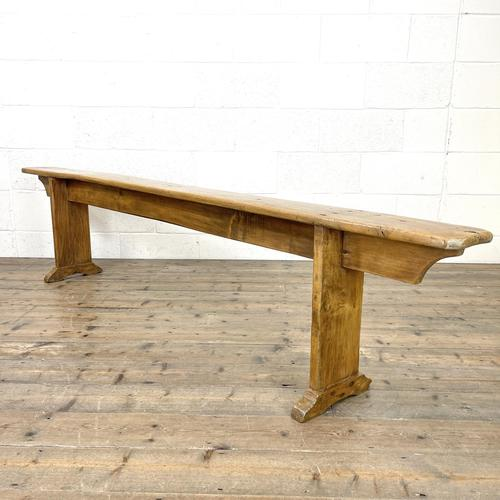 Long Antique Pine Bench (1 of 10)