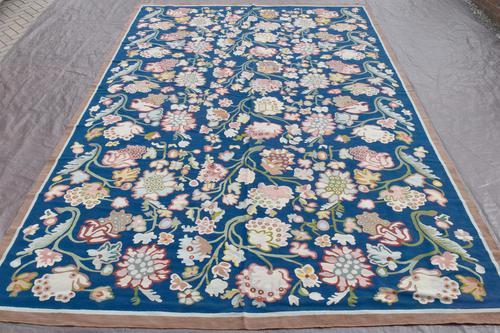 Very Fine Antique Bessarabian Kilim Carpet 386x261cm (1 of 6)