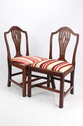 Pair of 19th Century Mahogany Side Chairs (1 of 13)