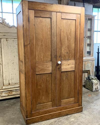 19th Century Pine Housekeepers Cupboard (1 of 4)