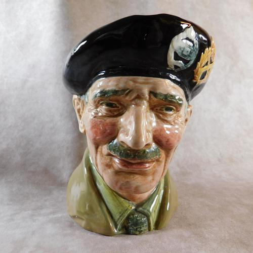 "Large Royal Doulton ""Monty"" Character Jug (1 of 7)"