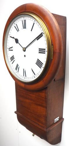 Antique Industrial Railway all Clock – Drop Dial Station Clocked Number 5478 (1 of 15)