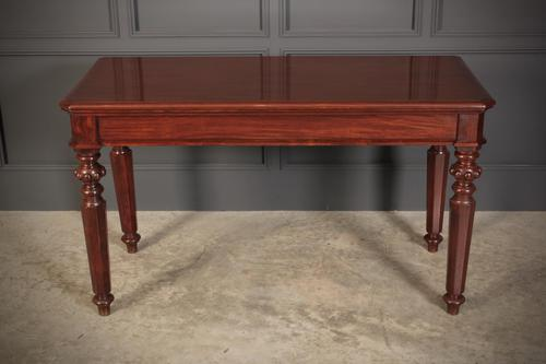 Victorian Mahogany Quality Serving Table (1 of 10)