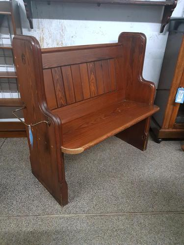 Small Antique Church Pew (1 of 5)