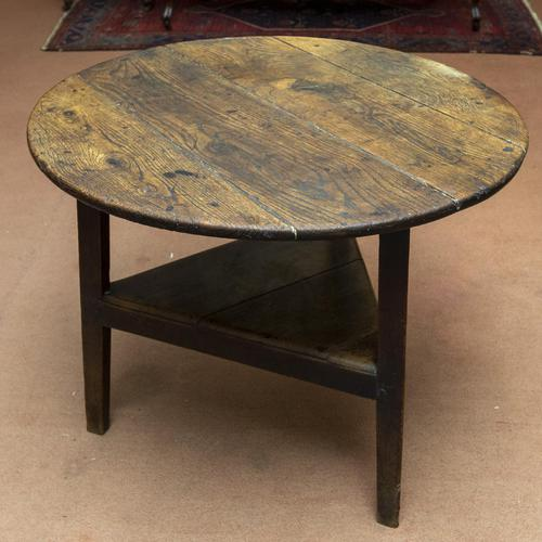 Oak Cricket Table - Wonderful Colour (1 of 4)