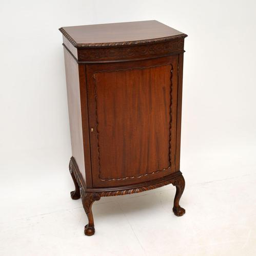 Antique Chippendale Style Mahogany Cabinet (1 of 10)