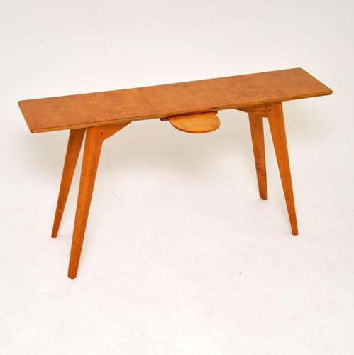1950's Vintage Console Side Table (1 of 9)