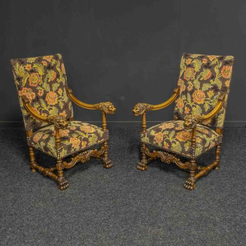 Pair of Throne Chairs (1 of 11)
