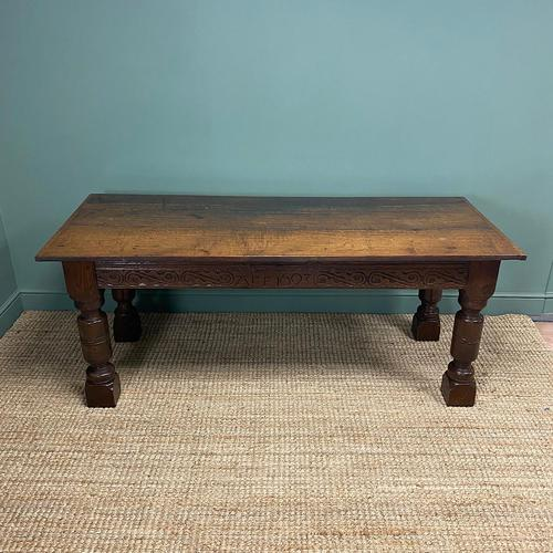 Period Oak Antique Table (1 of 6)