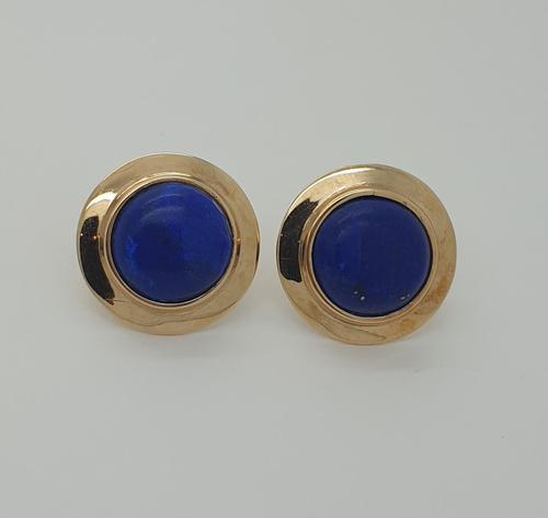 18ct Lapis Earrings (1 of 5)