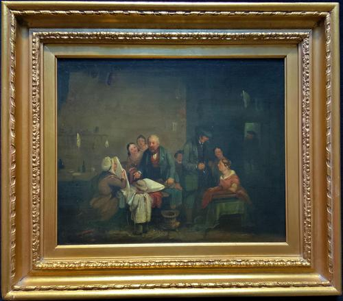 Sir David Willkie R.A Original Signed 1829 Oil Painting Inc Prov (1 of 13)
