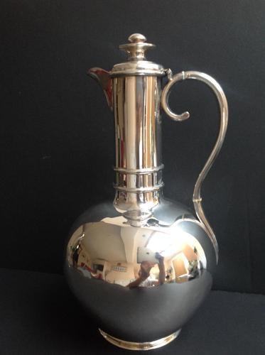 Antique Victorian Silver Wine Ewer 1861 (1 of 4)