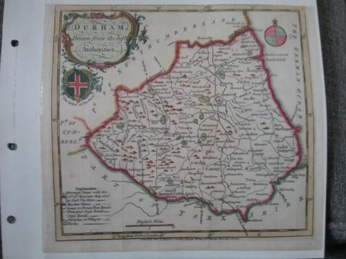 Map of County Durham (1 of 1)