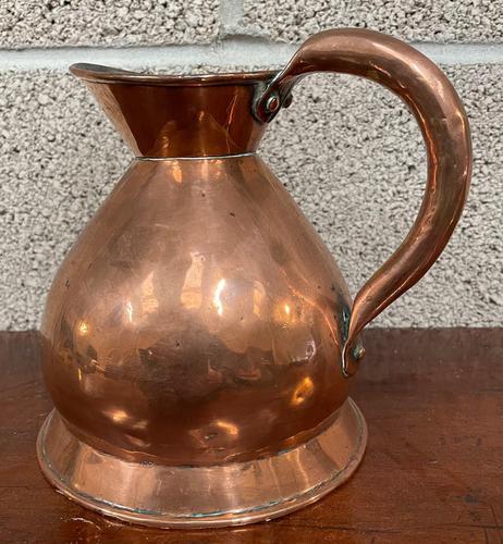 19th Century Copper 'Quartz' Jug (1 of 3)