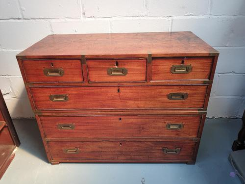 Vintage Wooden Campaign Chest (1 of 8)