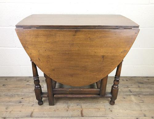 Early 20th Century Oak Gateleg Table (1 of 9)