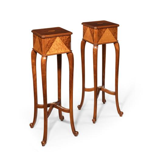 Pair of Anglo-Indian Teak Stands (1 of 8)