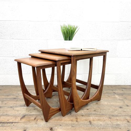 G Plan Teak Nest of Three Tables (1 of 10)