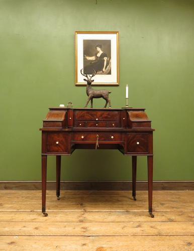 Antique 19th Century Carlton House Desk Mahogany Writing Table of Immense Character (1 of 30)