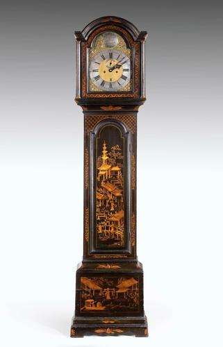 George II Period 8 Day Longcase Clock by William Creak (1 of 5)