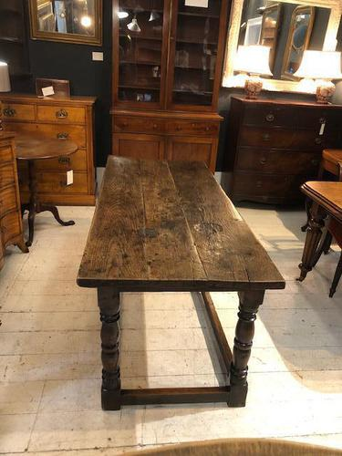Oak Refectory Table from 1700's (1 of 6)