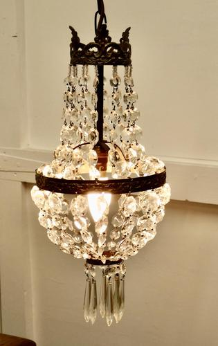 French Empire Style Tent Chandelier (1 of 7)