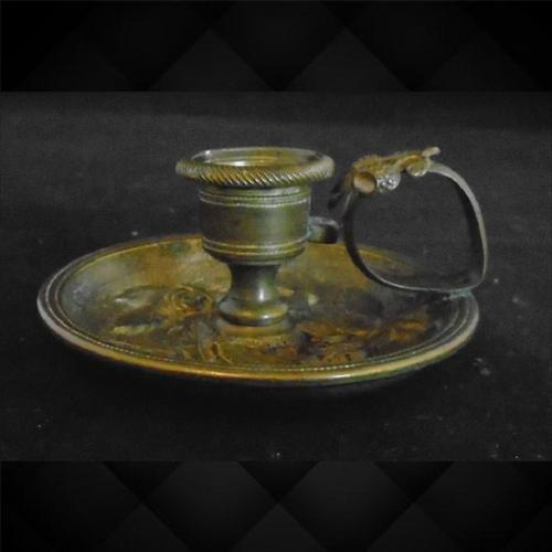 French Gilt Bronze Chamberstick / Candleholder (1 of 5)