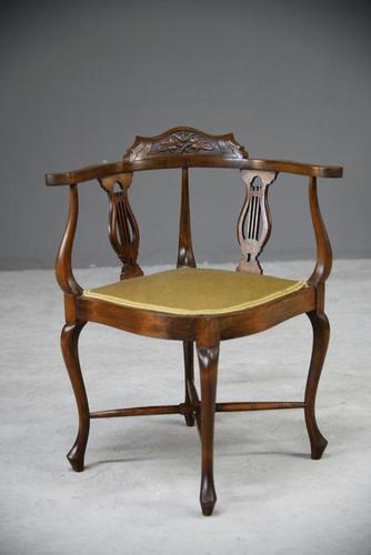 Edwardian Corner Chair (1 of 13)