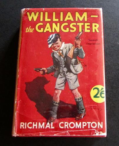 1938 William the Gangster by Richmal Crompton with Original Dust Jacket (1 of 4)