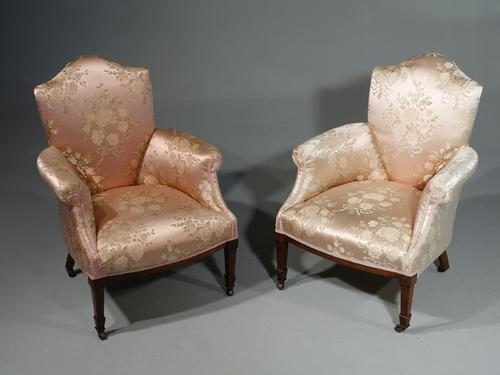 Most Elegant Pair of Late 19th Century Boudoir or Drawing Room Chairs (1 of 6)