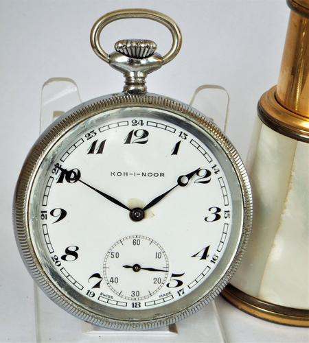 1930s Helvetia Koh-I-Noor Pocket Watch (1 of 4)