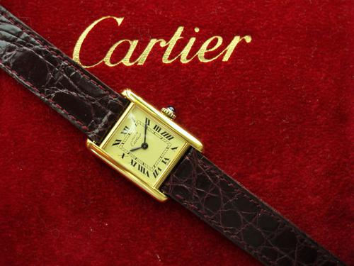 Cartier Ladies Tank Wristwatch (1 of 4)