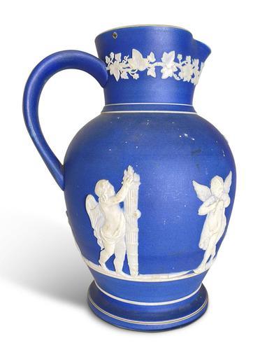 Blue Jasperware Jug (1 of 4)