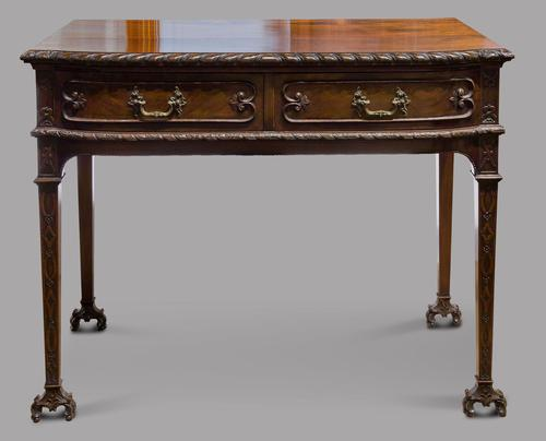 A Mahogany Serving Table c1915 Maple & Co (1 of 4)