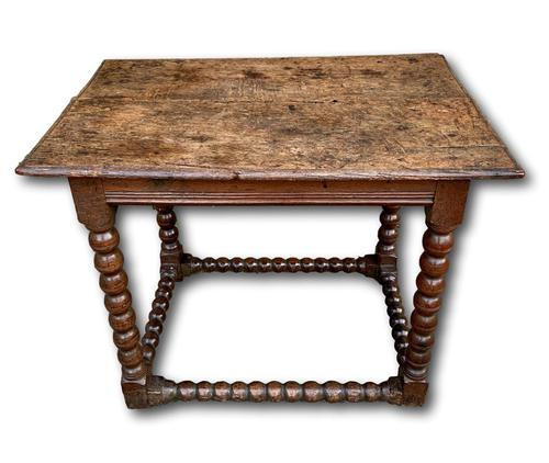17th Century Spanish Country House Occasional Table (1 of 5)