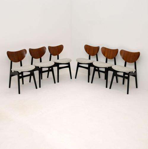 Set of 6 Vintage G Plan Butterfly Dining Chairs (1 of 12)